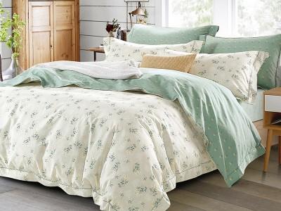 Комплект постельного белья Asabella 175/180 на резинке (размер евро)