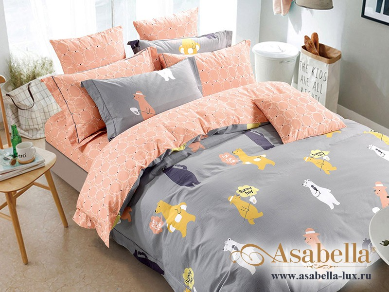 Комплект постельного белья Asabella 202-4S (размер 1,5-спальный)