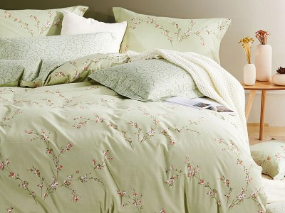 Комплект постельного белья Asabella 209/160 на резинке (размер евро)