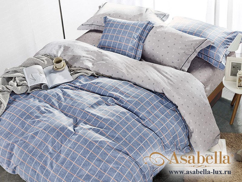 Комплект постельного белья Asabella 248/160 на резинке (размер евро)