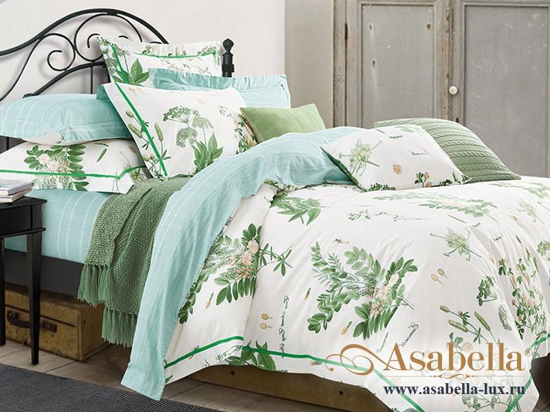 Комплект постельного белья Asabella 255/180 на резинке (размер евро)