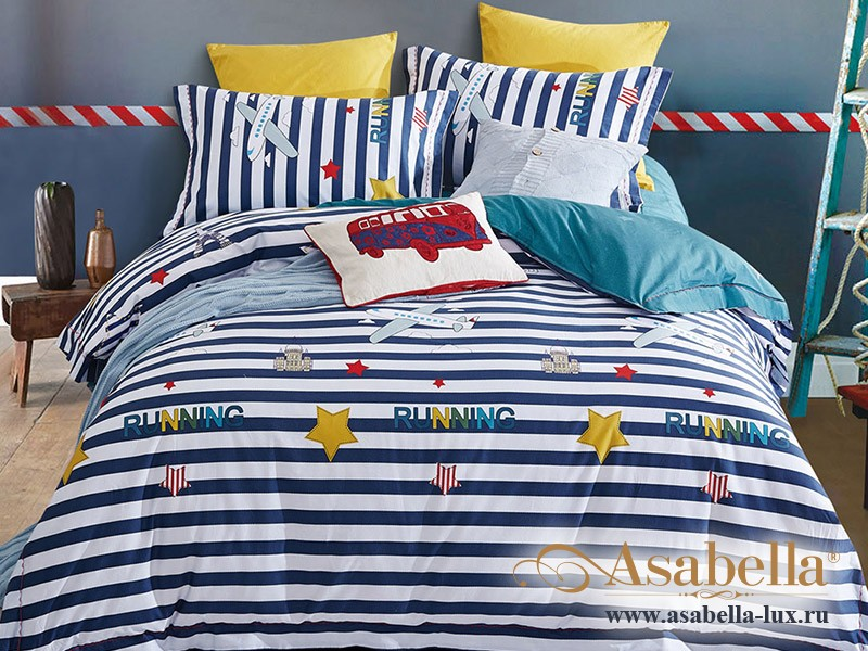 Комплект постельного белья Asabella 330-4S (размер 1,5-спальный)