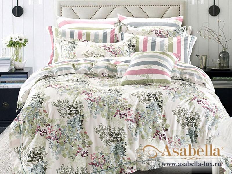 Комплект постельного белья Asabella 343/180 на резинке (размер евро)