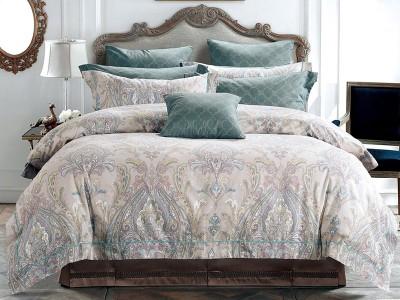 Комплект постельного белья Asabella 358/160 на резинке (размер евро)