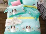 Комплект постельного белья Asabella 360-4S (размер 1,5-спальный)