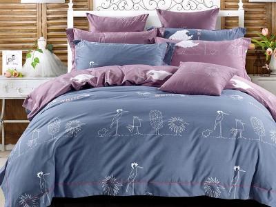 Комплект постельного белья Asabella 378 (размер 1,5-спальный)
