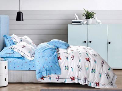 Комплект постельного белья Asabella 541-4S (размер 1,5-спальный)