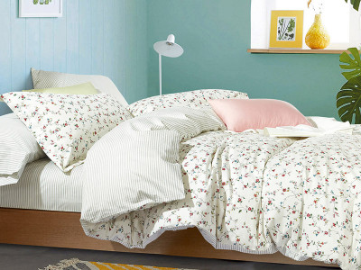 Комплект постельного белья Asabella 553-4S (размер 1,5-спальный)