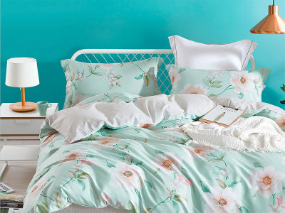 Комплект постельного белья Asabella 556/160 на резинке (размер евро)