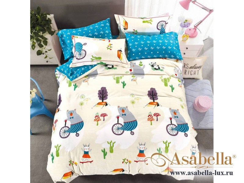 Комплект постельного белья Asabella 910-4XS (размер 1,5-спальный)