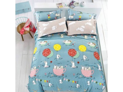 Комплект постельного белья Asabella 912-4XS (размер 1,5-спальный)