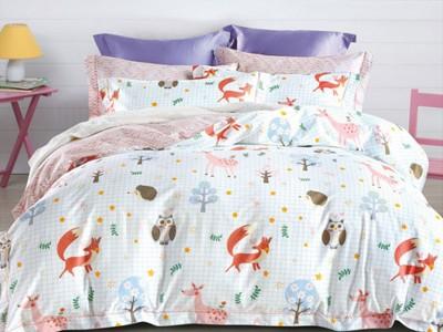Комплект постельного белья Asabella 992-4S (размер 1,5-спальный)