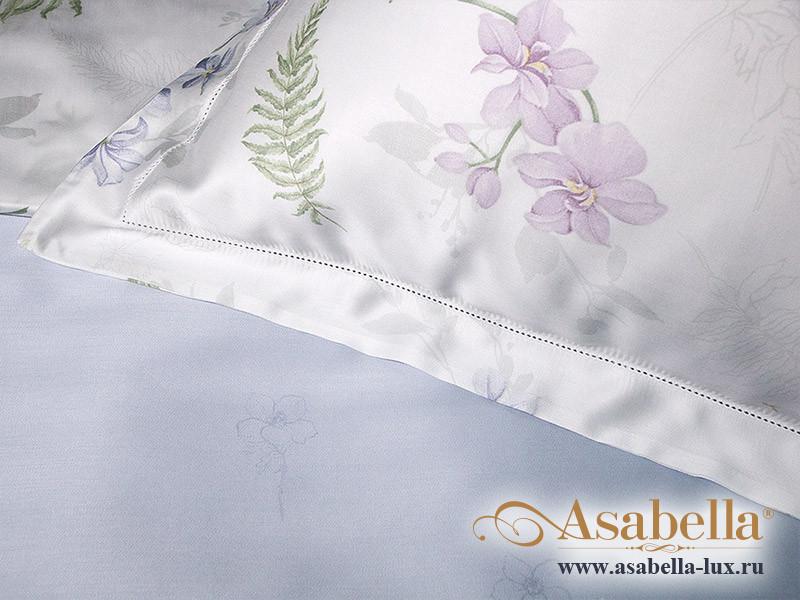 Комплект простыни 180х245 см с двумя наволочками 50х70 см из сатина тенсель Asabella 1052-3PS