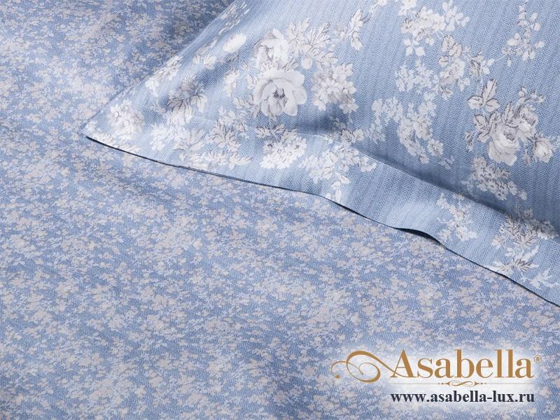 Комплект простыни 240х260 см с двумя наволочками 50х70 см из сатина тенсель Asabella 114-3P