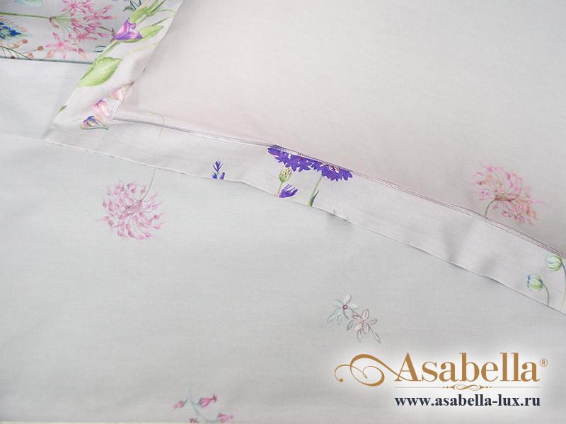 Комплект простыни 240х260 см с двумя наволочками 50х70 см из печатного сатина хлопок Asabella 1214-3P