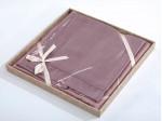 Комплект простыни 180х245 см с двумя наволочками 50х70 см из сатина тенсель Asabella 1302-3PS