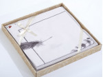 Комплект простыни 180х245 см с двумя наволочками 50х70 см из печатного сатина хлопок Asabella 1316-3PS