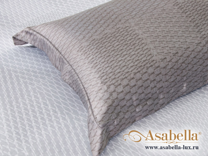Комплект простыни 180х245 см с двумя наволочками 50х70 см из сатина тенсель Asabella 1391-3PS