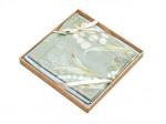 Комплект простыни 180х245 см с двумя наволочками 50х70 см из сатина тенсель Asabella 1447-3PS
