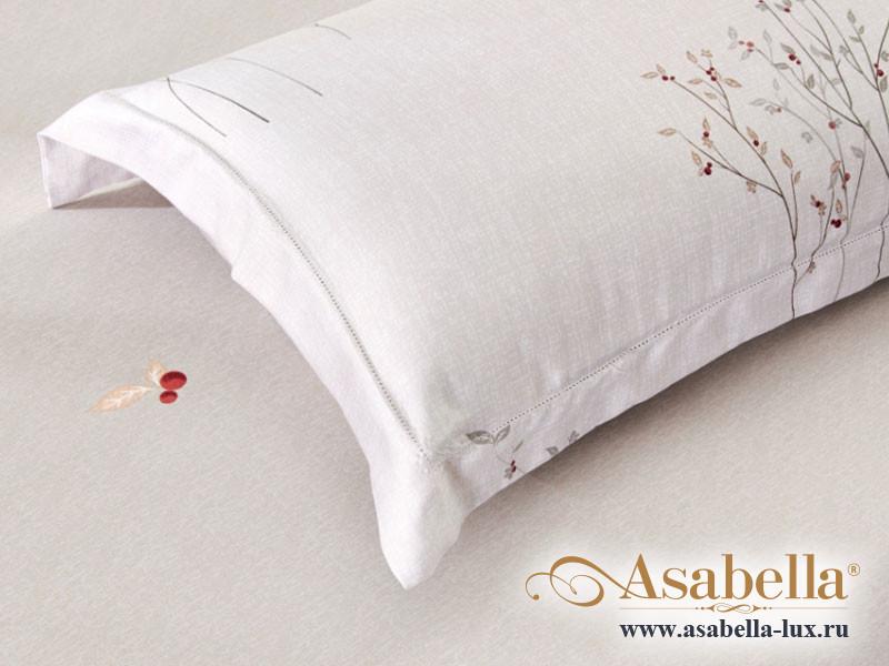 Комплект простыни 240х260 см с двумя наволочками 50х70 см из сатина тенсель Asabella 1448-3P