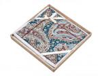 Комплект простыни 240х260 см с двумя наволочками 50х70 см из печатного сатина хлопок Asabella 1488-3P