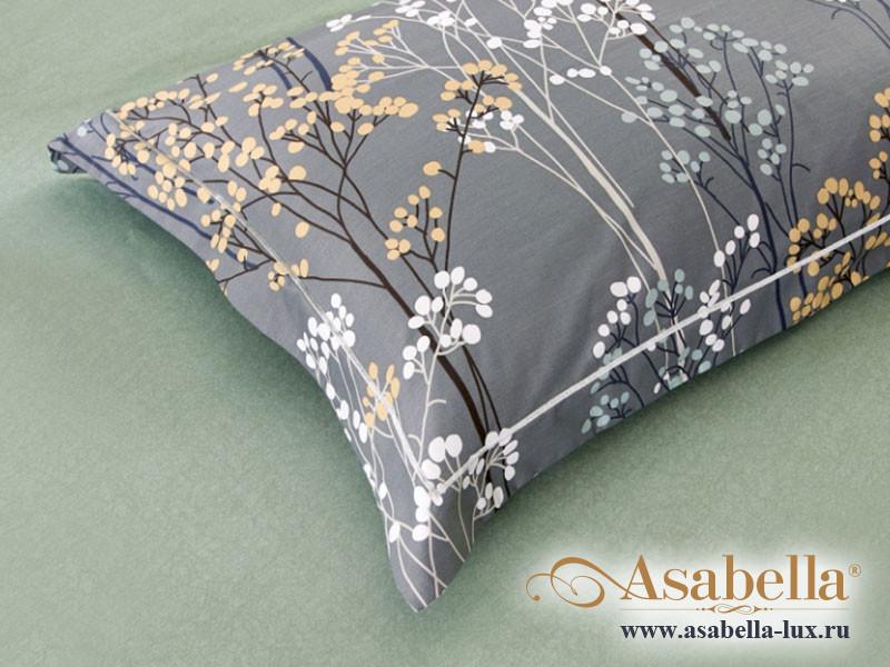 Комплект простыни 240х260 см с двумя наволочками 50х70 см из печатного сатина хлопок Asabella 1507-3P