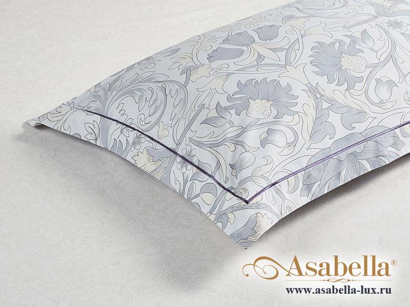 Комплект простыни 180х245 см с двумя наволочками 50х70 см из печатного сатина хлопок Asabella 1551-3PS