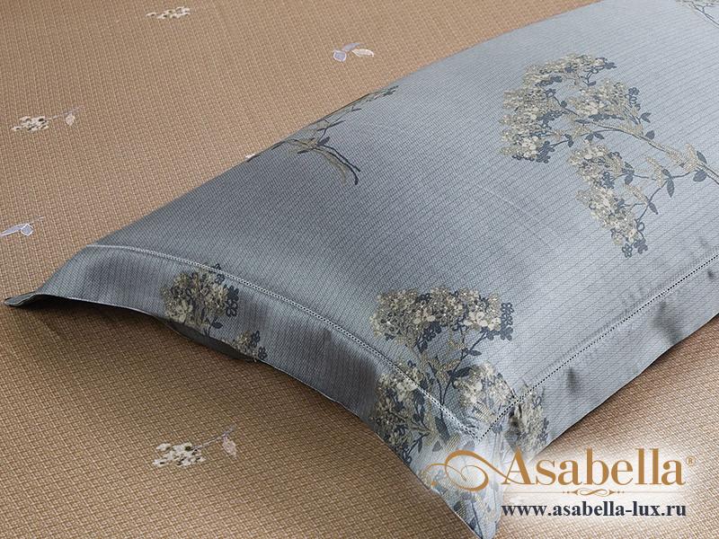 Комплект простыни 180х245 см с двумя наволочками 50х70 см из сатина тенсель Asabella 1576-3PS