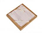 Комплект простыни 180х245 см с двумя наволочками 50х70 см из сатина тенсель Asabella 1628-3PS