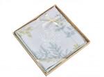 Комплект простыни 240х260 см с двумя наволочками 50х70 см из сатина тенсель Asabella 1630-3P