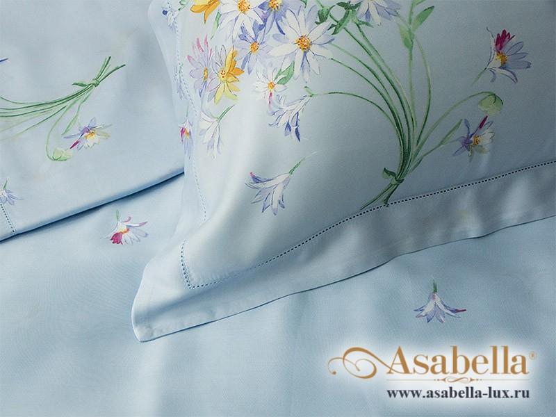 Комплект простыни 180х245 см с двумя наволочками 50х70 см из сатина тенсель Asabella 303-3PS