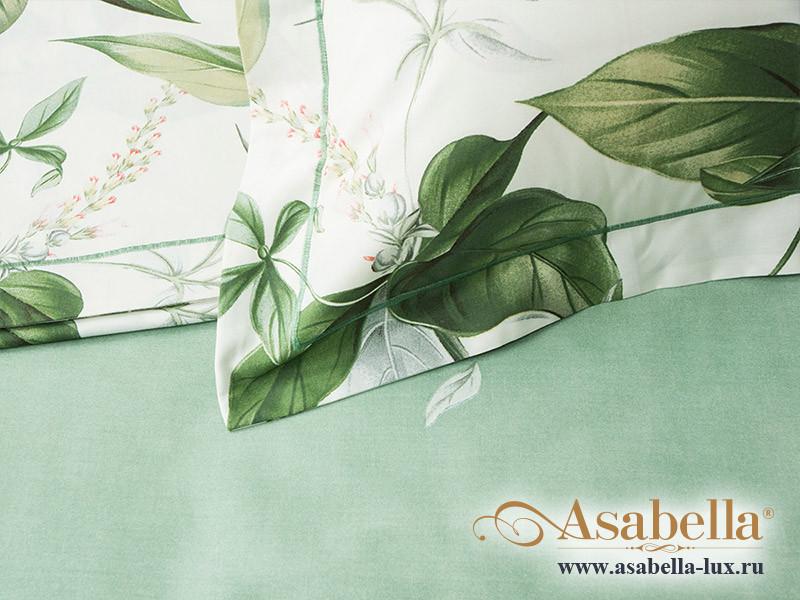Комплект простыни 180х245 см с двумя наволочками 50х70 см из печатного сатина хлопок Asabella 532-3PS