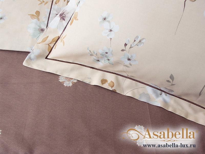 Комплект простыни 240х260 см с двумя наволочками 50х70 см из печатного сатина хлопок Asabella 558-3P