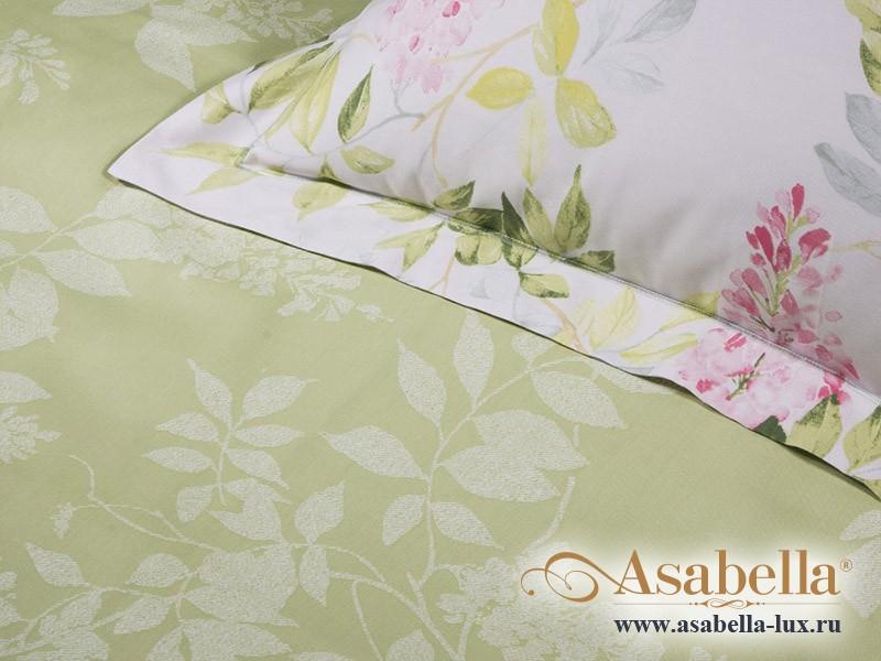 Комплект простыни 240х260 см с двумя наволочками 50х70 см из печатного сатина хлопок Asabella 755-3P