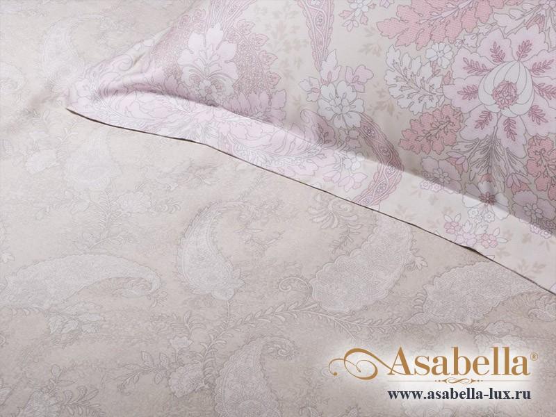 Комплект простыни 240х260 см с двумя наволочками 50х70 см из сатина тенсель Asabella 870-3P