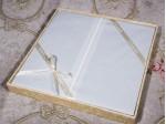 Комплект простыни 180х245 см с двумя наволочками 50х70 см из печатного сатина хлопок Asabella 889-3PS