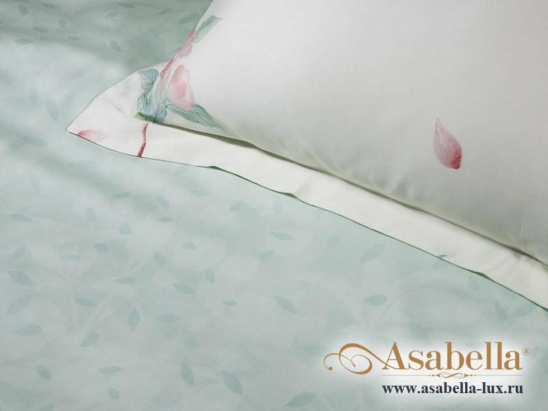 Комплект простыни 240х260 см с двумя наволочками 50х70 см из сатина тенсель Asabella 906-3P
