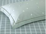 Комплект простыни 180х245 см с двумя наволочками 50х70 см из печатного сатина хлопок Asabella 976-3PS