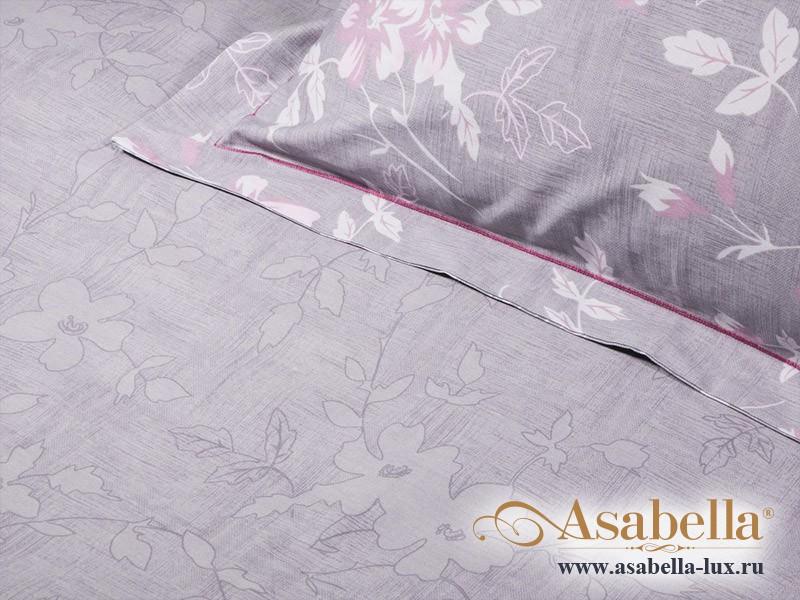 Комплект простыни 240х260 см с двумя наволочками 50х70 см из печатного сатина хлопок Asabella 989-3P