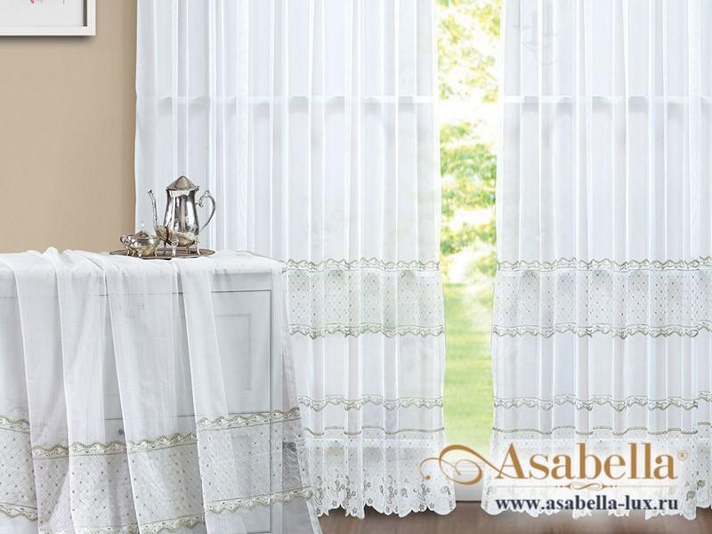 Тюль Asabella A07 (2 полотна размером 270х275 см)