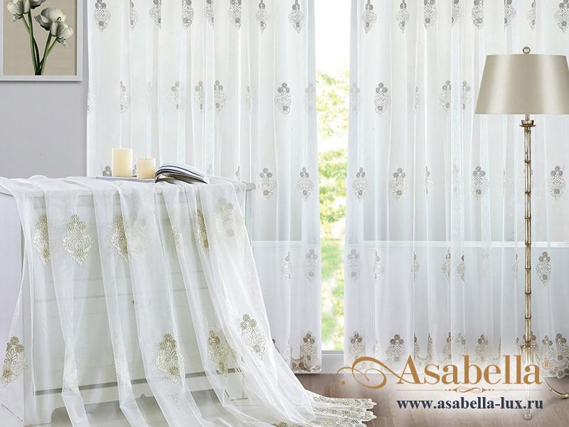 Тюль Asabella A10 (2 полотна размером 270х275 см)