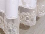 Скатерть овальная жаккардовая Asabella K11-9 (размер 160х240 см)