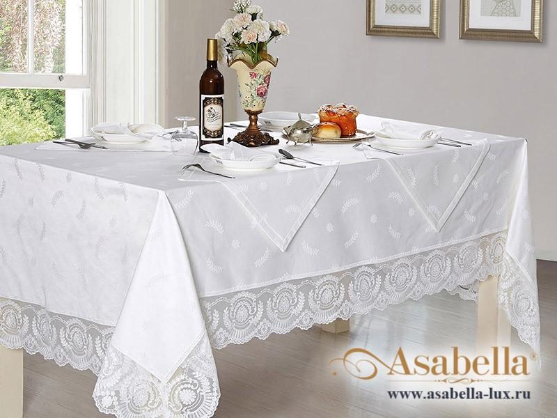Скатерть жаккардовая Asabella K12-1 (размер 160х160 см)
