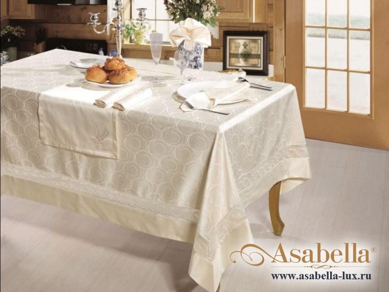 Скатерть жаккардовая Asabella K4-11 (размер 160х350 см)